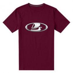 Мужская стрейчевая футболка Logo vase