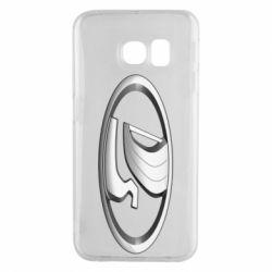 Чехол для Samsung S6 EDGE Logo vase