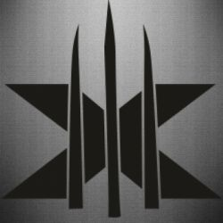 Наклейка Logo X-Men and Blades