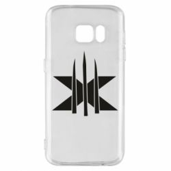 Чохол для Samsung S7 Logo X-Men and Blades