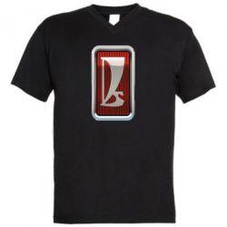 Чоловіча футболка з V-подібним вирізом Logo