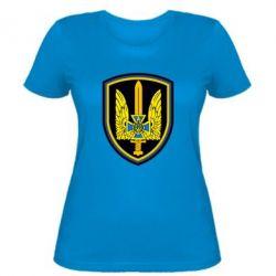 Женская футболка Логотип Азов - FatLine