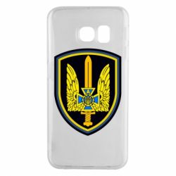 Чехол для Samsung S6 EDGE Логотип Азов