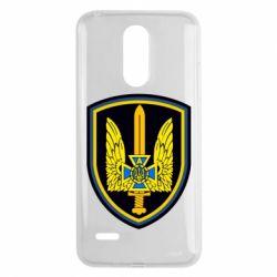 Чохол для LG K8 2017 Логотип Азов - FatLine