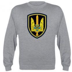 Реглан (свитшот) Логотип Азов - FatLine