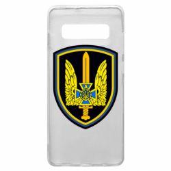 Чехол для Samsung S10+ Логотип Азов