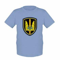 Детская футболка Логотип Азов - FatLine