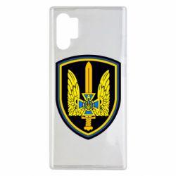 Чехол для Samsung Note 10 Plus Логотип Азов