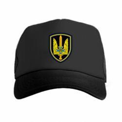 Кепка-тракер Логотип Азов - FatLine