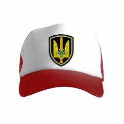 Детская кепка-тракер Логотип Азов