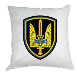 Подушка Логотип Азов - FatLine