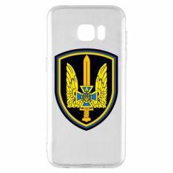 Чехол для Samsung S7 EDGE Логотип Азов