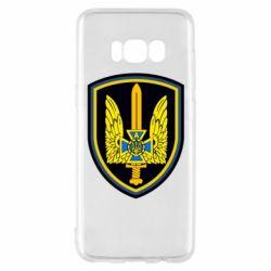 Чехол для Samsung S8 Логотип Азов