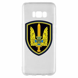 Чехол для Samsung S8+ Логотип Азов