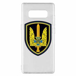 Чехол для Samsung Note 8 Логотип Азов