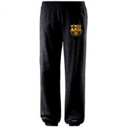 Штаны Логотип Барселоны - FatLine