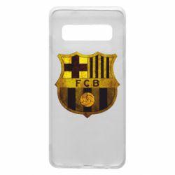 Чохол для Samsung S10 Логотип Барселони