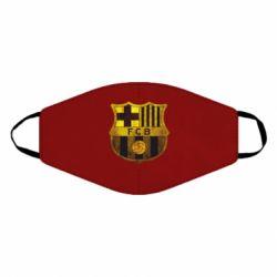 Маска для обличчя Логотип Барселони