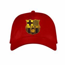 Детская кепка Логотип Барселоны - FatLine