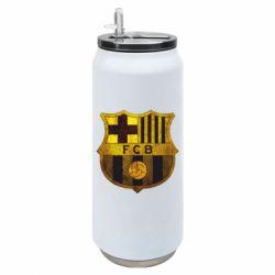 Термобанка 500ml Логотип Барселони