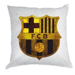 Подушка Логотип Барселоны - FatLine