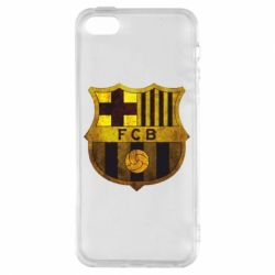 Чохол для iphone 5/5S/SE Логотип Барселони