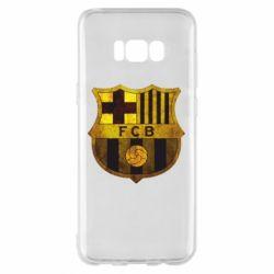 Чохол для Samsung S8+ Логотип Барселони