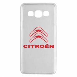Чохол для Samsung A3 2015 Логотип Citroen