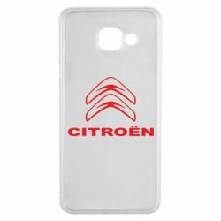 Чохол для Samsung A3 2016 Логотип Citroen