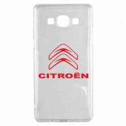 Чохол для Samsung A5 2015 Логотип Citroen