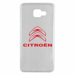 Чохол для Samsung A7 2016 Логотип Citroen