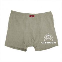 Чоловічі труси Логотип Citroen - FatLine