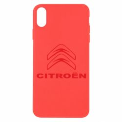 Чохол для iPhone X/Xs Логотип Citroen