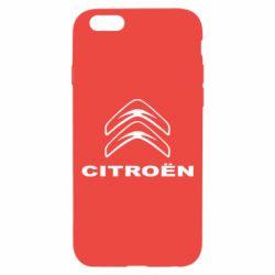 Чохол для iPhone 6 Логотип Citroen