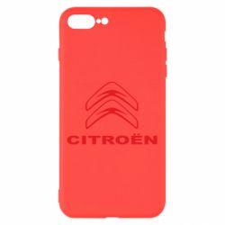 Чохол для iPhone 8 Plus Логотип Citroen