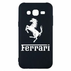Чехол для Samsung J5 2015 логотип Ferrari