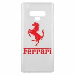 Чехол для Samsung Note 9 логотип Ferrari
