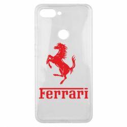 Чехол для Xiaomi Mi8 Lite логотип Ferrari