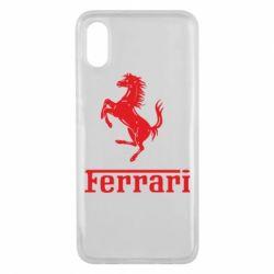 Чехол для Xiaomi Mi8 Pro логотип Ferrari