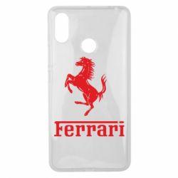 Чехол для Xiaomi Mi Max 3 логотип Ferrari