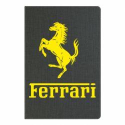Блокнот А5 логотип Ferrari