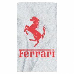 Полотенце логотип Ferrari