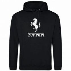 Толстовка логотип Ferrari