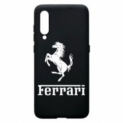 Чехол для Xiaomi Mi9 логотип Ferrari