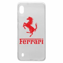 Чохол для Samsung A10 логотип Ferrari