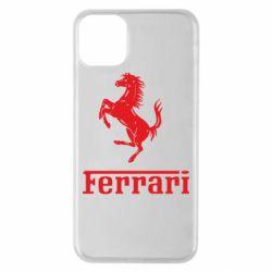 Чехол для iPhone 11 Pro Max логотип Ferrari
