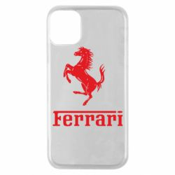 Чехол для iPhone 11 Pro логотип Ferrari