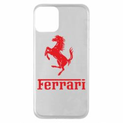 Чохол для iPhone 11 логотип Ferrari