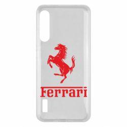 Чохол для Xiaomi Mi A3 логотип Ferrari