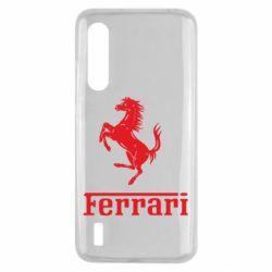 Чехол для Xiaomi Mi9 Lite логотип Ferrari